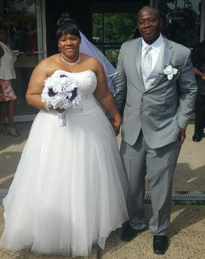 LA'TASHA AND CHRIS: SAID THEIR VOWS ON JULY 2, 2016; I SERVED UP MY SOUTHERN COMFORT WEDDING FEAST: MAC AND CHEESE, CANDIED YAMS, MELT IN YOUR MOUTH STEAK...ETC